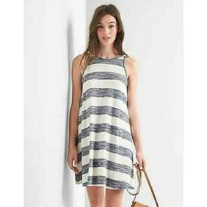 NWOT Gap striped super soft tank swing dress